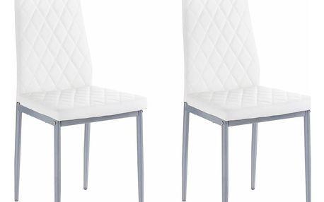 Sada 2 bílých židlí Støraa Barak