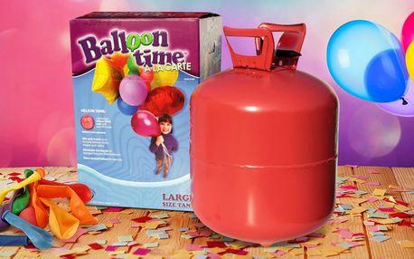 Ať to letí: Heliové bomby pro 30 až 100 balonků
