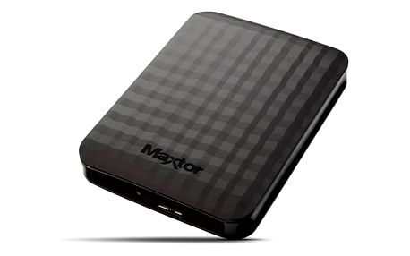 Maxtor M3 Portable 2TB (STSHX-M201TCBM) černý