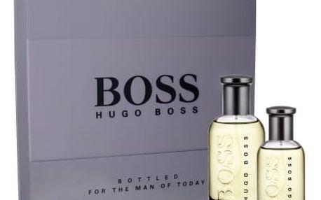HUGO BOSS Boss Bottled dárková kazeta pro muže toaletní voda 100 ml + toaletní voda 30 ml