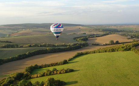 Vyhlídkový let malým balonem pro jednu osobu