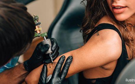 Nové tetování nebo úprava stávajícího v centru Prahy