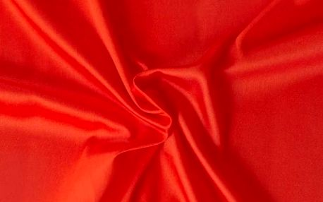 Kvalitex prostěradlo satén červené