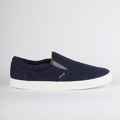 Boty Crocs CitiLane Slip-on Sneaker M Modrá