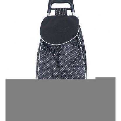 Brilanz Nákupní taška na kolečkách CARRIE, černá