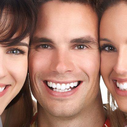 Bělení zubů bez peroxidu včetně remineralizace