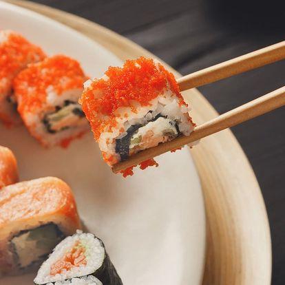 50% sleva na veškeré sushi v Mya Chef Restaurant