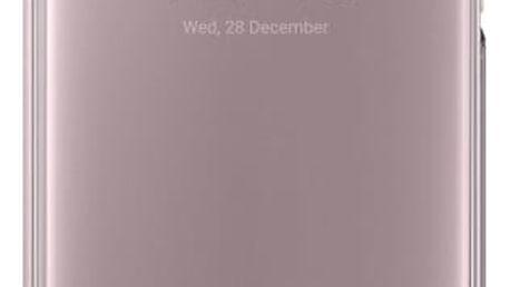 Pouzdro na mobil flipové Samsung Clear View pro Galaxy A5 2017 (EF-ZA520C) růžové (EF-ZA520CPEGWW)