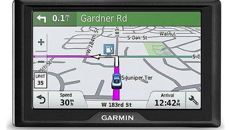 Navigační systém GPS Garmin Drive 51S Lifetime Europe45 černá (010-01678-13)