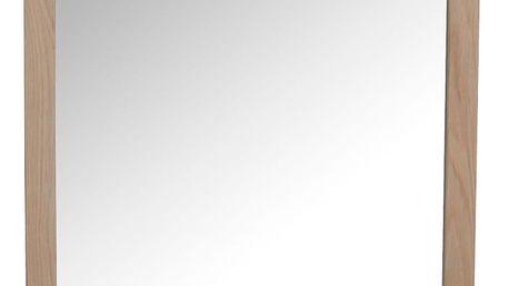 Světlé dubové zrcadlo Folke Gorgona