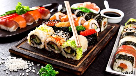 Sushi sety: 22–38 kousků pro odnos s sebou