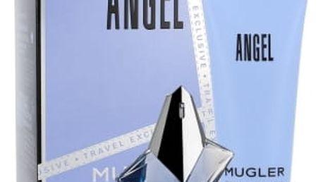 Thierry Mugler Angel 50 ml dárková kazeta dárková sada pro ženy parfémovaná voda 50 ml + tělové mléko 100 ml