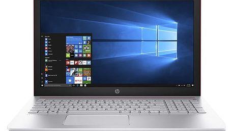 Notebook HP Pavilion 15-cd012nc červený + dárky (2CN50EA#BCM)