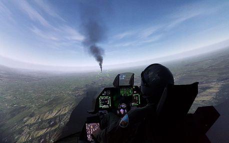 Zážitek na leteckém bojovém simulátoru F-16 Fighting Falcon