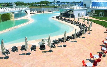 Maďarsko Mjus World Resort neomezené wellness hýčkání v luxusním 4* ar
