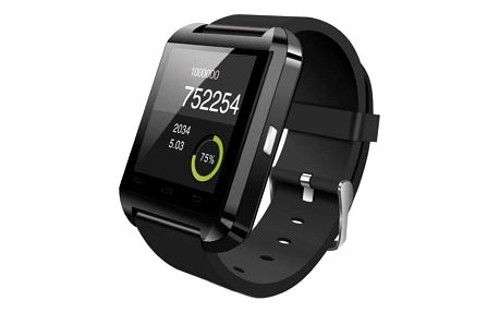 Chytré hodinky IMMAX SW5 černé (09006)