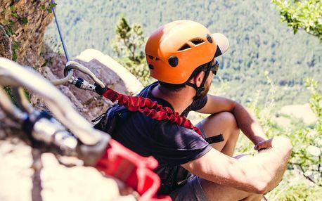 Zážitkové lezení Via ferrata v Českém ráji