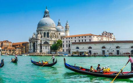 4-dňový zájazd do Talianska s gondolierskym podujatím
