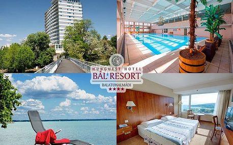Luxusní hotel Bál resort s polopenzí, neomezeným wellness - 200m od bř