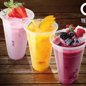 Novinka! Osvěžující čajový koktejl Fruit Tea