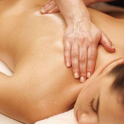 Masáž dle výběru v délce 30 nebo 60 minut