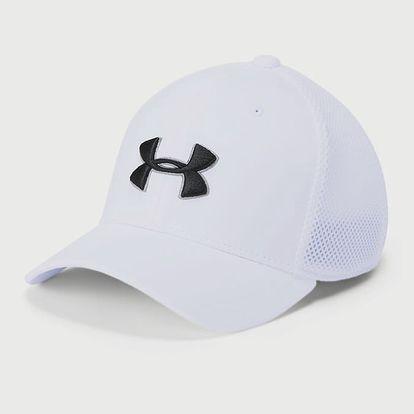 Kšiltovka Under Armour Boy'S Golf ClaSSic Mesh 2.0 Bílá