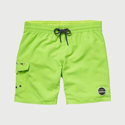Boardshortky O´Neill Pb Sunstruck Boardshorts Zelená
