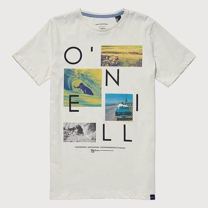 Tričko O´Neill Lb Neos S/Slv T-Shirt Bílá