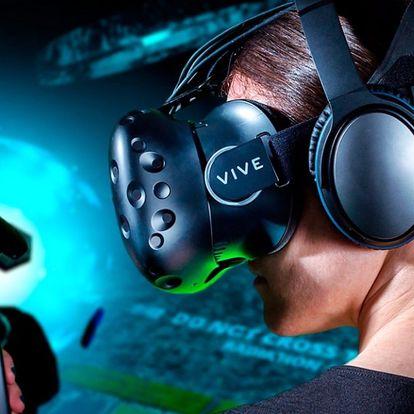 60 minut virtuální reality s 1 nebo 2 konzolemi
