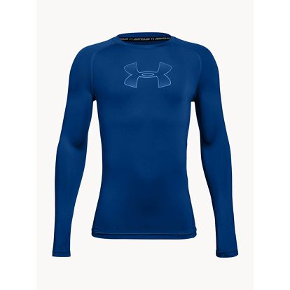 Tričko Under Armour LS armour Modrá