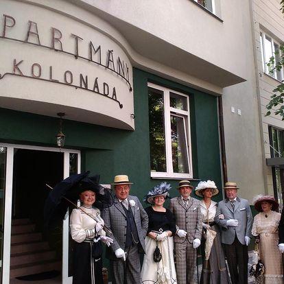 Ubytování v apartmánech Kolonáda u Kleopatřiných lázní Poděbrady
