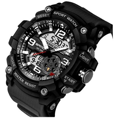 Pánské digitální hodinky - černá - dodání do 2 dnů