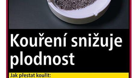 Tabák cigaretový West Red 111g