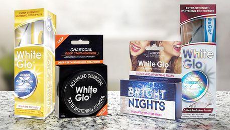 Sada pro čištění a bělení zubů White Glo
