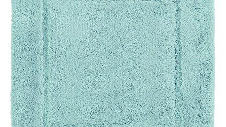 Mentolová koupelnová předložka Aquanova Accent, 60x60cm
