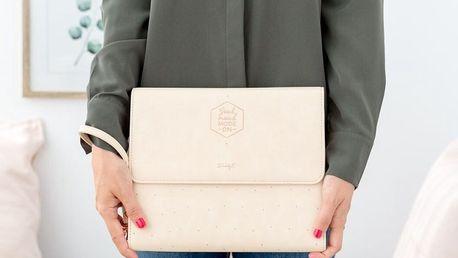 Obal na tablet s blokem a přihrádkami na dokumenty Mr. Wonderful Good mood