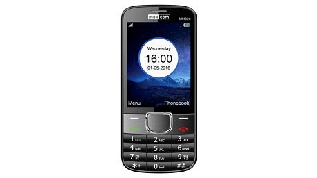 Mobilní telefon MaxCom Classic MM320 Single Sim černý (MM320BKSS)