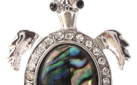 Fashion Icon Přívěsek želva Paua perleť