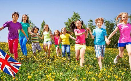 14denní tábor s angličtinou pro dítě od 6 do 15