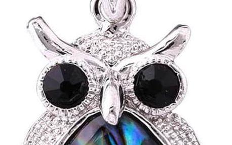 Fashion Icon Přívěsek sovička Paua perleť malá