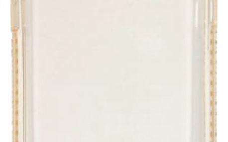 Kryt na mobil Beeyo Diamond Frame pro Samsung Galaxy A3 (2017) zlatý (BEASAGAA32017TPUFRGO)