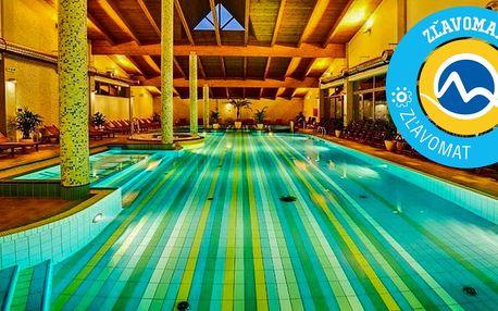 Výnimočný Wellness Hotel Bystrá*** s neobmedzeným TOP vodným a saunovým svetom