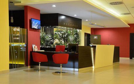 Moderní hotel Palcát poblíž historického centra města Tábor