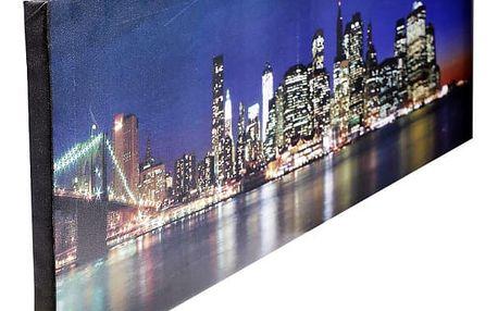 Kvalitní matné fotoplátno s fotografií na dřevěném rámu