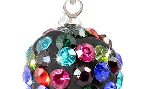 Fashion Icon Přívěsek kulička malá s krystaly +řetízek ZDARMA