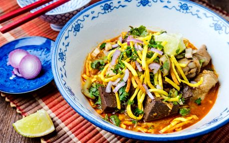 30% sleva na veškerá jídla v Mya Chef Restaurant