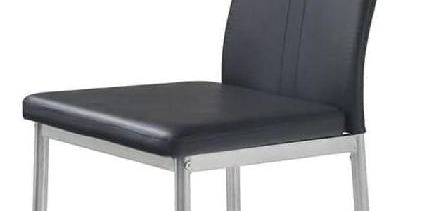 Jídelní židle K202 krémová3