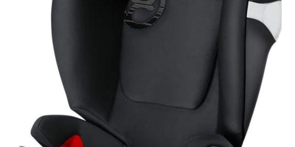 CYBEX Autosedačka Solution M-fix (15-36 kg), Lavastone Black (2018)