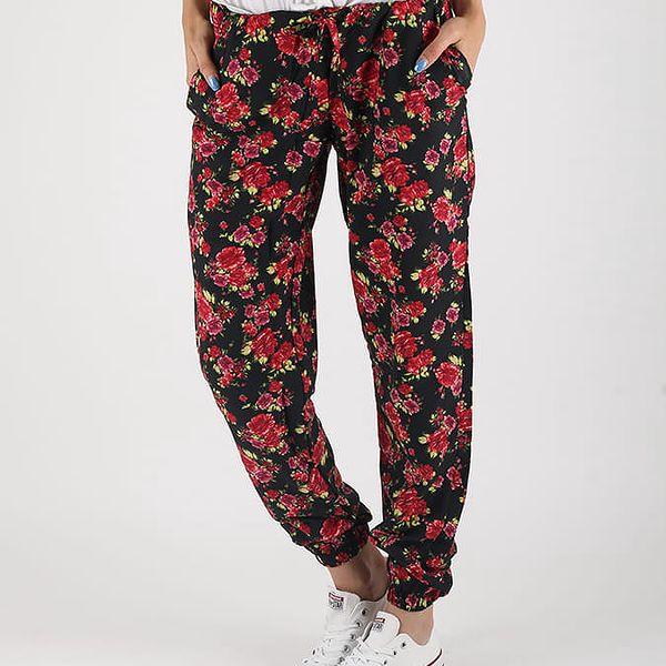 Kalhoty Terranova Pantalone Červená