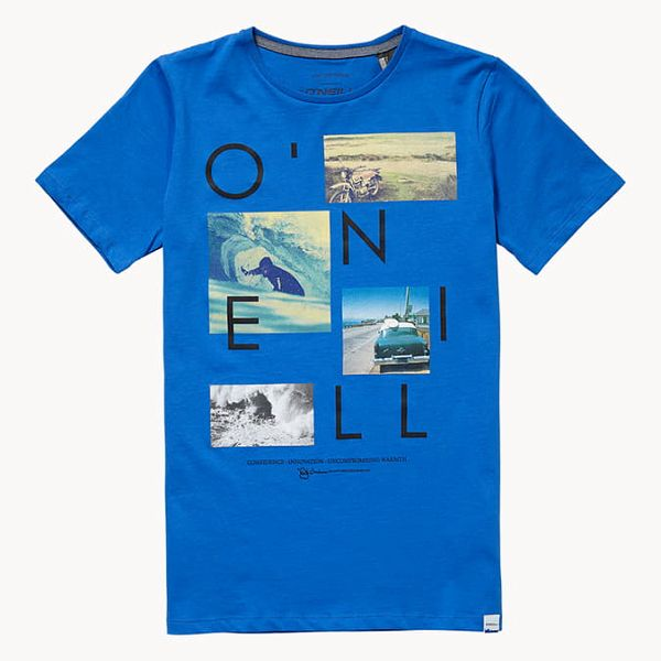 Tričko O´Neill Lb Neos S/Slv T-Shirt Modrá